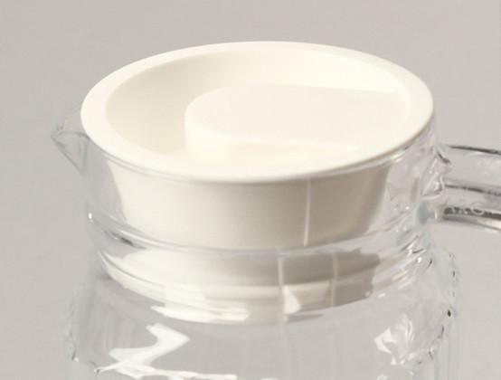 Kühlschrankkrug : Arcoroc krüge karaffen quadro deckel weiß f.kühlschrankkrug