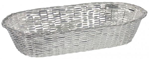 Contacto, Baguettekorb 28 cm, versilbert
