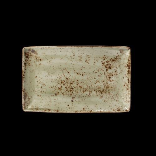 Steelite, Craft Green- Platte rechteckig, 27 x 17 cm