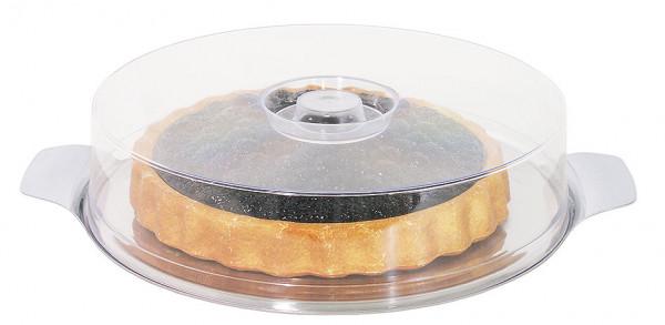 Contacto, Runde Platte mit Haube 30 cm
