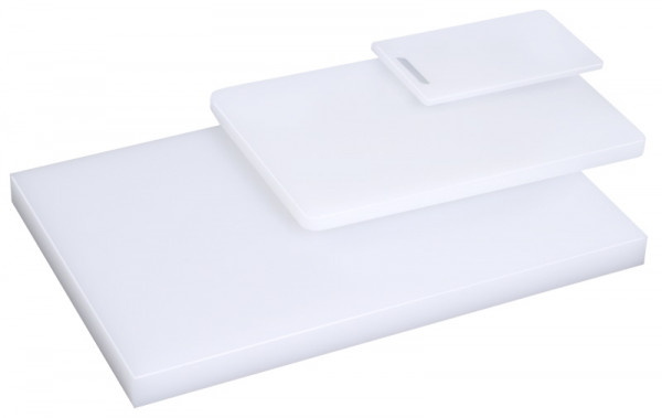Contacto, Schneidbrett mit Füsschen ohne Griffloch Stärke 2 cm, 44x29 cm