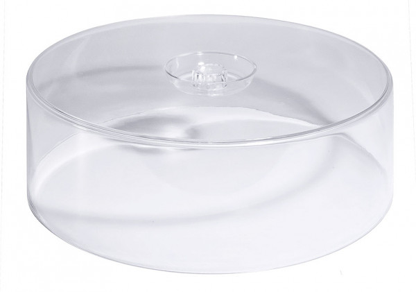 Contacto, Hohe Tortenhaube, klar, 33 cm