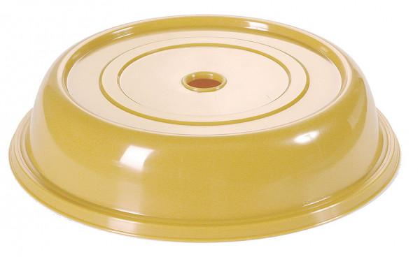 Contacto, Tellerglocke gelb, 23,5 cm