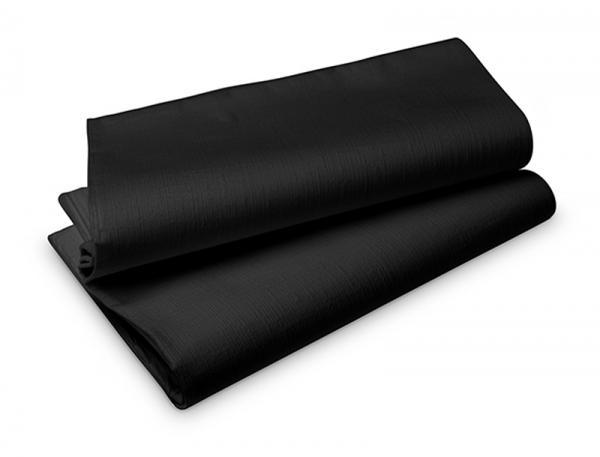 Duni, Evolin - Mitteldecke, schwarz,  84 x 84 cm