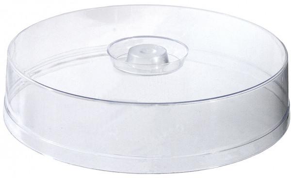 Contacto, Flache Tortenhaube, klar 30 cm