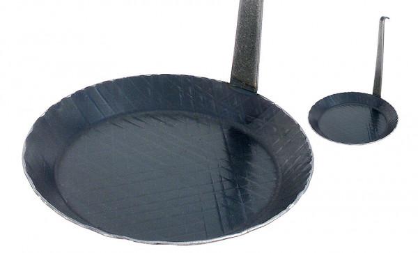 Contacto, Brat- und Servier- Eisenpfanne mit hochstehendem Stie, 20 cm