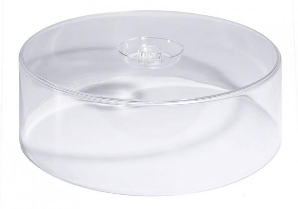 Contacto, Hohe Tortenhaube, klar, 30 cm